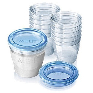 Free Shipping Avent New via cup 180ml 240ml breast milk storage bag bags milk single