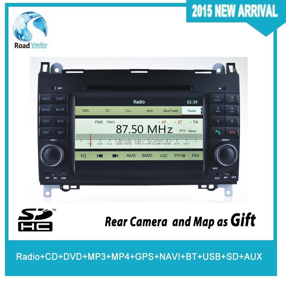 GPS+IPOD+BT+SD+USB+RCA+AUX CAN BUS RADIO MP3 MP4 dvd Mercedes-Benz A-class W169 ab2004 - Guangzhou GoHead Electronic CO.,Ltd store