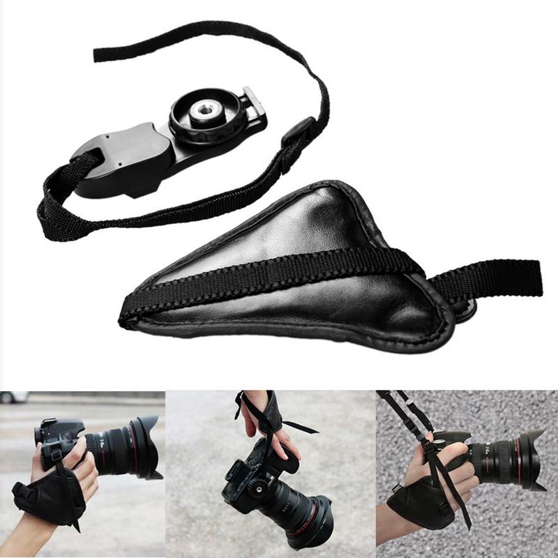 NI Fashion Leather DSLR Camera Grip Wrist Hand Strap Canon Nikon Sony Pentax - niceol store