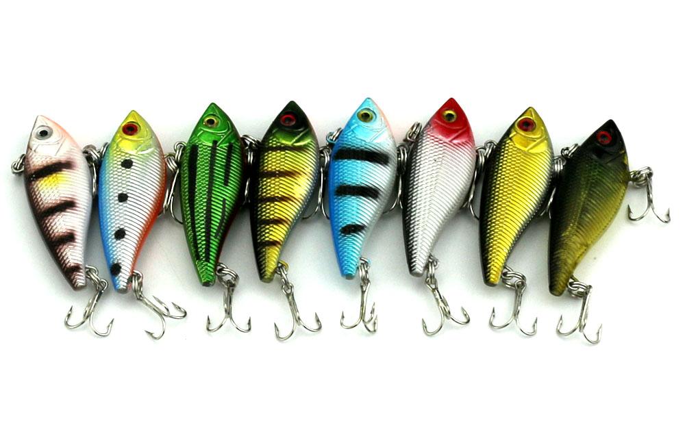 15CM 6G 8#japan hooks fishing baits VIB Plastic Hard Fishing Lures(VI007) Crank freshwater pike bass pesca tackles - Tong Cheng's store