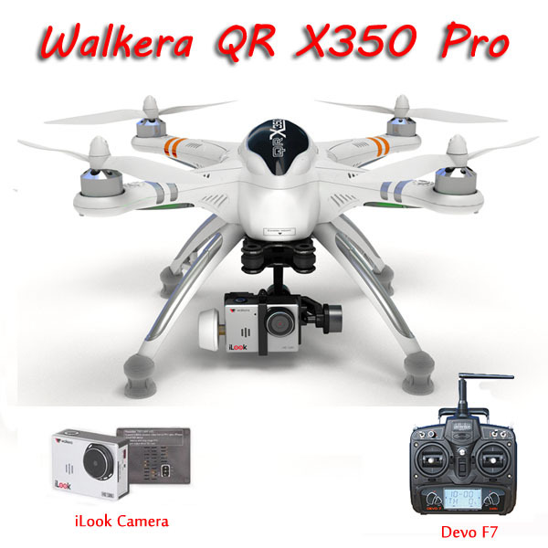 DHL Shipping WALKERA QR X350 Pro GPS Drone 6CH Brushless UFO with Transmitter Remote Control Helicopter