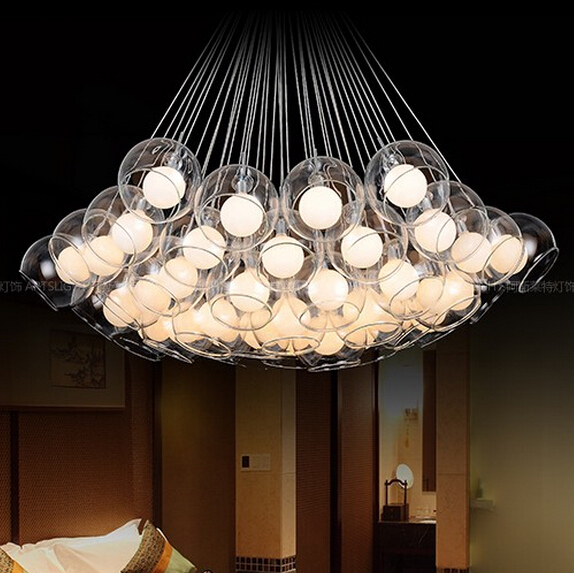 decorative pendant lights. 37  indoor lamp Bulb Free Round glass balls Hanging lights Philips Decorative Lights Wanker for