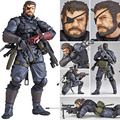 MGS Alloy Equipment Magic Pain SNAKE PVC Action Figure Model Gifts Toys Collections About 14 5cm