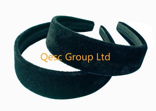 FREE SHIPPING.3.8cm VELVET headband ,(50pcs/lot),use for fascinator or hair ornament(China (Mainland))