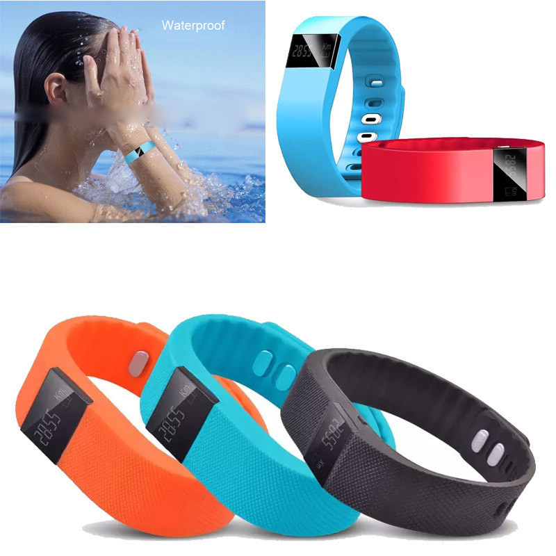 2015 Newest Fashion TW64 Bluetooth Smart Fitness Waterproof Fitness Tracker Watch Wristband For Android iOS<br><br>Aliexpress