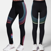 Buy Plus Size Sporting Leggings Summer Skinny Elastic Patchwork Print Push-up Leggings Workout Pants Fitness Clothing Women for $12.90 in AliExpress store
