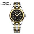 Luxury Brand GUANQIN Quartz Watches Women Sapphire Ultrathin Steel Sport Watch Luminous Calendar Women s Watches