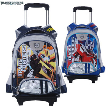 Genuine transformers backpack randoseru school bags rolling ...
