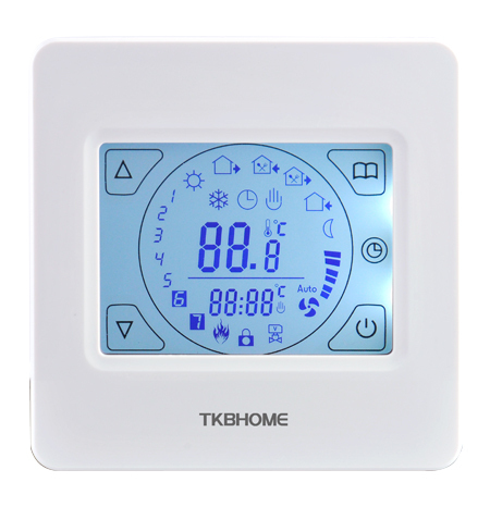 E92.713 LCD Touch-screen water heating thermostat