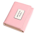 lovely short wallet purse Fashion Women Leather Wallet Button Clutch Purse Lady Short Handbag Bag Fashion