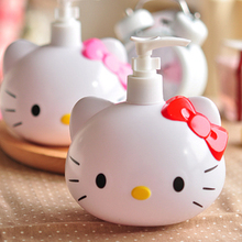 1 Pcs.Kawaii Hello Kitty Bow Plastic Empty Spray Bottle For Make Up And Skin Care Sprayer Refillable Bottle.Free shipping(China (Mainland))