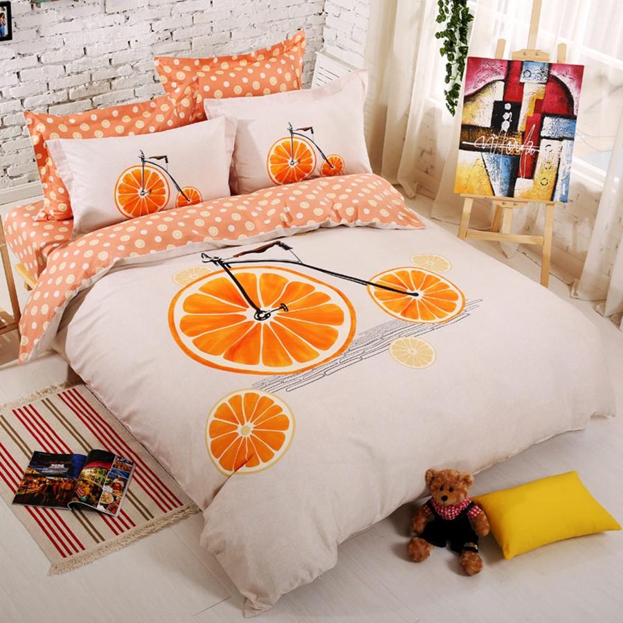 Housses de couette orange achetez des lots petit prix for Housse de couette orange