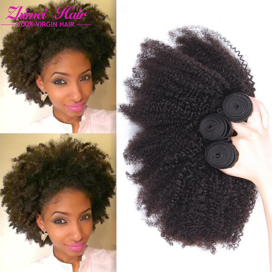 Afro Kinky Remy Human Hair 111