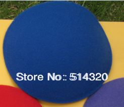 B006 Blue EVA Circle Round Millinery Hat Fascinator and Headpieces Base DIY Craft 11cm 2/lot(China (Mainland))