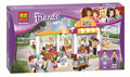 2016 Bela 10494 318Pcs Friends Heartlake Supermarket Minifigures Building Blocks Set Bricks Girl Toys Compatible 41118