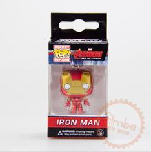 Buy FUNKO POP Marvel Avengers2 Assemble Super Hero Iron Man PVC Action Figure Doll Collection keychain T405 for $8.94 in AliExpress store