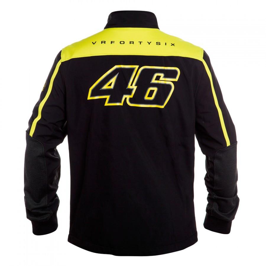 Купить 2016 VRfortysix Вален Росси VR46 Большой 46 Желтый Панели Moto GP Балахон Спорт Взрослых Кофты