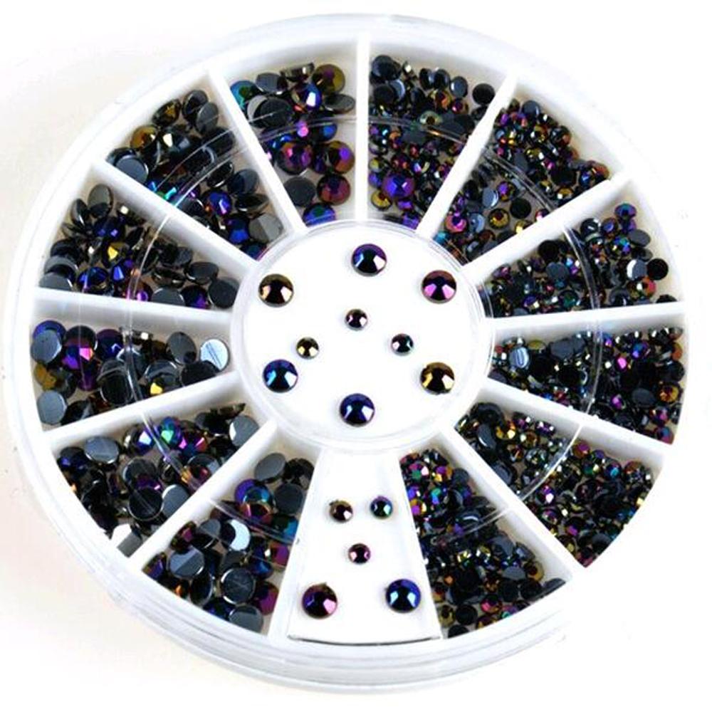 300 Pcsd decoration nail acrylic nail supplies UV gel nail tips charms ...