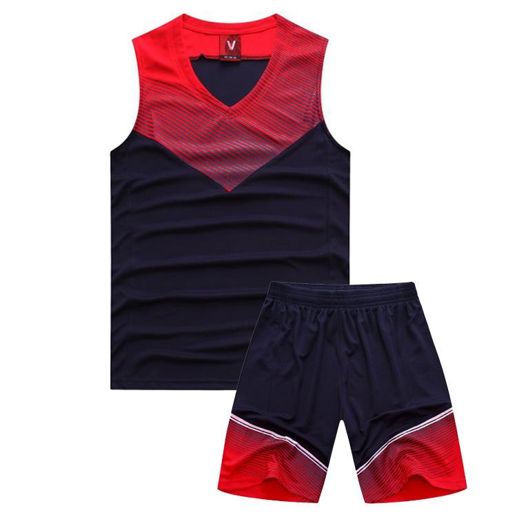 Basketball jersey sports suit basketball training T-shirt cheaper college jerseys - Sunshine Set store