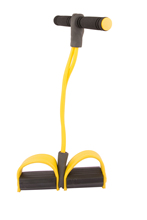 Resistance Bands Foot Rally fitness Exerciser Pull up Body Trimmer Exerciser Gut Buster Pull crossfit Yellow YC011