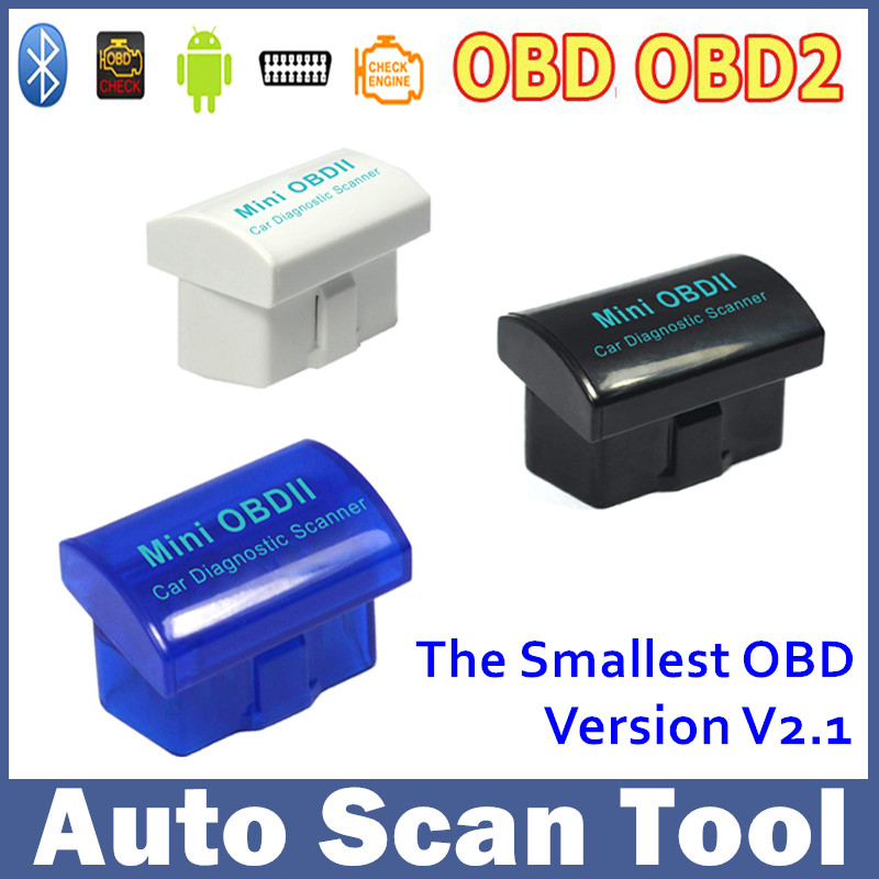 Latest Version V2.1 Universal Bluetooth MINI OBD OBD2 OBDII ELM327 Wireless Diagnostic Tool for Android Windows Symbian(China (Mainland))