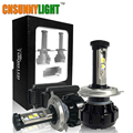 12000LM Super Bright Car LED Headlight Kit H4 HB2 9003 H13 9007 w Cree Chips Replace