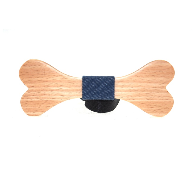2016 New Arrival Creative Bone Wooden Ties Personality Fashion Bowtie Handmade Wood Plaid Neck Tie for Men Solid Wood Bow Tie(China (Mainland))