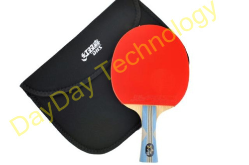 Free Shipping DHS 6002 Table Tennis Rubber Ping Pong Racket 6-Star
