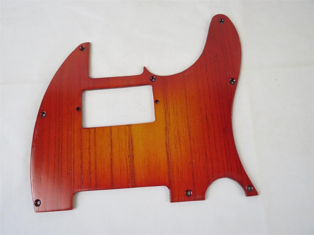 1pcs Hand-made solid ailanthus wood Telecaster Guitar Tele Pickguard #2610(China (Mainland))
