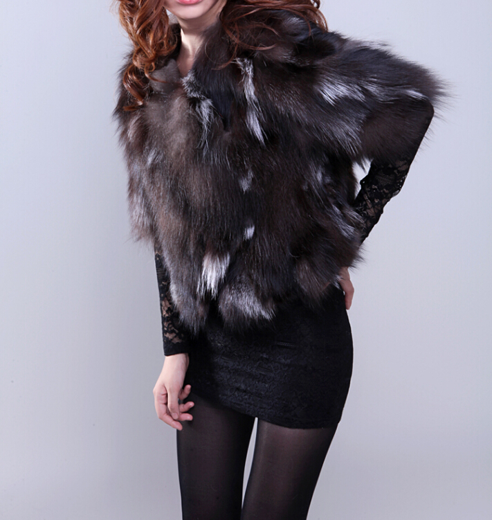 Top rated Real Natural Fox Fur Coat Women Genuine Jacket FP443 Low Sale Brand Overcoat - TopFur Fashion co.,Ltd store