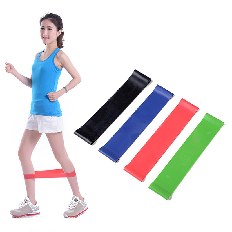 Multi-Color Resistance Band Light/Med/Heavy Exercise Yoga Pull Rope Exercise Fitness Equipment