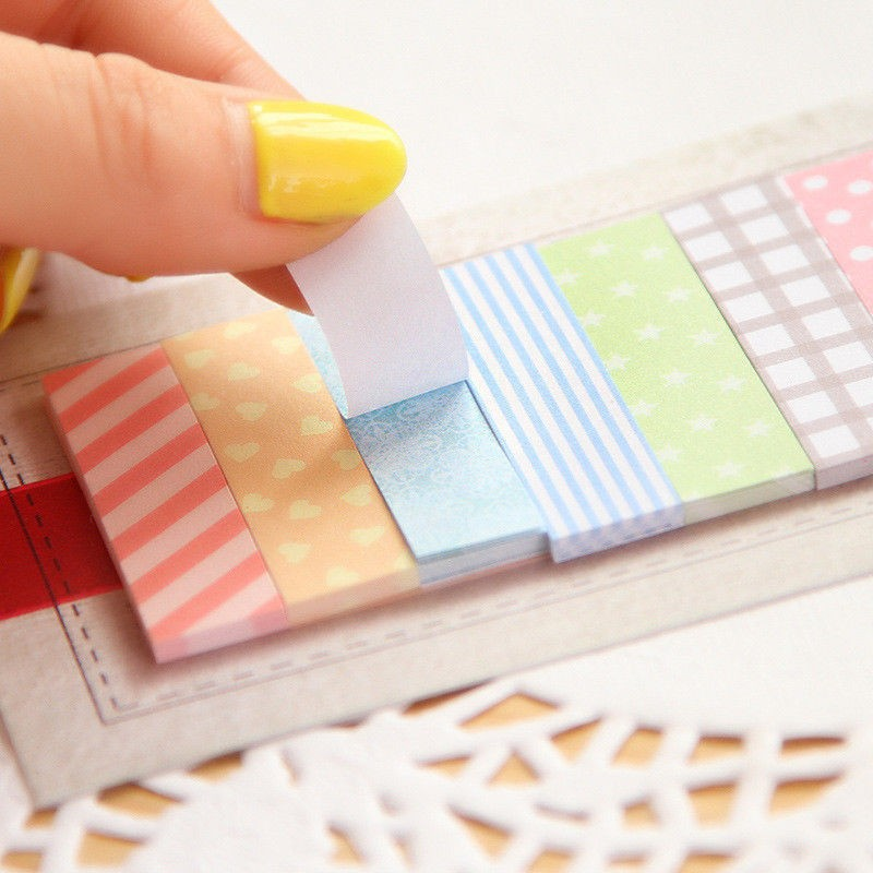 Cute 160 Pages Sticker Post It Bookmark Point It Marker Memo Flags Sticky Notes(China (Mainland))