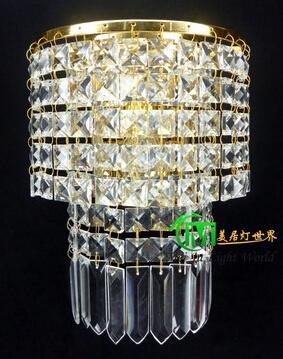 Crystal Wall Light E14x1 Bedroom Mounted Lamp 110V 220V Sconces - Ala Lighting Corporation store