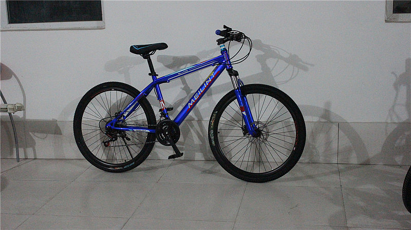 2014 seconds kill new arrival sky blue light green white red blue yellow black 11kg bmx double disc 26 dip mountain bike 21 ,(China (Mainland))