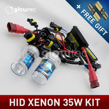 Buy XENON HID KIT HEADLIGHT LAMP SLIM DC BALLAST Bulbs H7 H3 H7 H8 H9 H11 35W 9005 9006 GLOWTEC 4300K, 5000K, 6000K, 8000K for $13.99 in AliExpress store