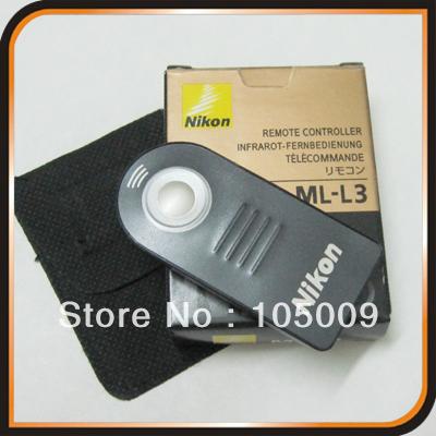 ML-L3 IR Wireless Remote Control For Nikon D80 D90 D300 D5100 D3000 D7000 D5200 D7100 D7000 J1 V1(China (Mainland))