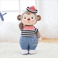 Chinese new year monkey mascot lovely scarf MONKEY Plush toy monkey doll birthday gift you laugh