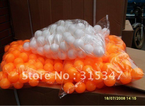 Ping Pong Balls 300pcs/lot white and yellow perfect for arts and crafts free shipping