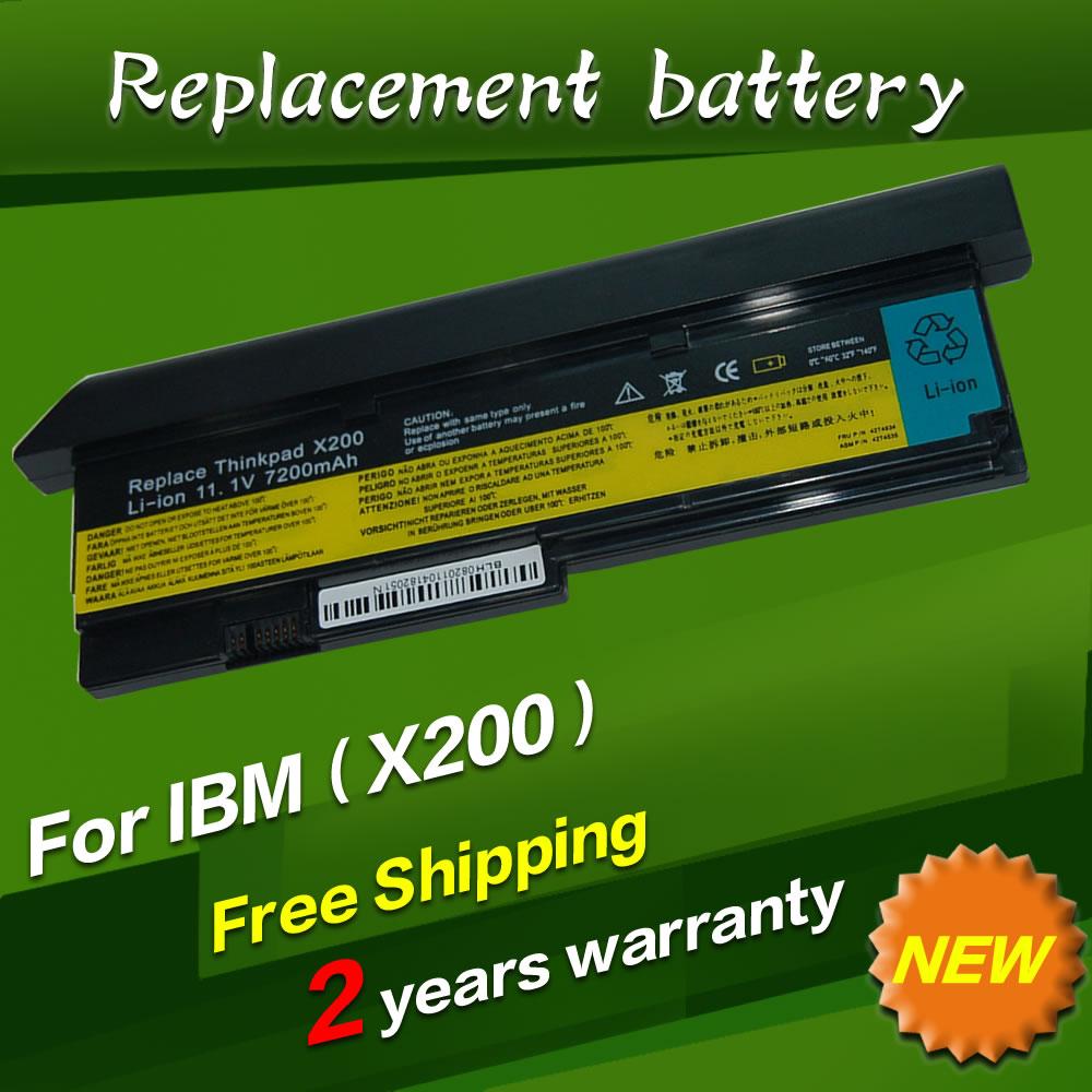 7800mAh 9 CELL NEW Laptop battery for IBM Lenovo ThinkPad X200 X200S X201 X201S X201i 42T4650 black<br><br>Aliexpress