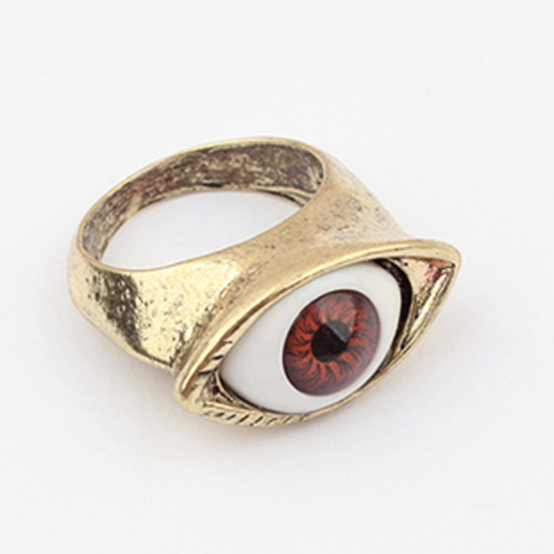 Sunshine wholsale vintage gold eye ring fashion jewelry J112(China (Mainland))