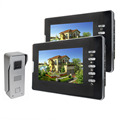 7 Video Intercom IR Night Vision Camera 1000TVL Monitor Door Phone Video with Doorbell for Home