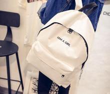 2016 Fashion School women Bags travel sport girl bag Sweet Backpack School Lady canvas Backpacks