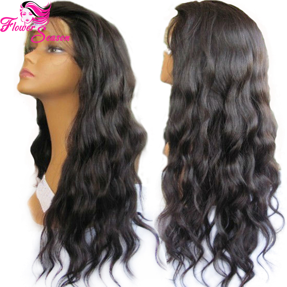 free parting 4x4 silk top glueless full lace wigs loose wave virgin brazilian full lace human. Black Bedroom Furniture Sets. Home Design Ideas