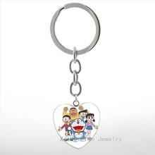 الأزياء اليابانية كوم عبقور المفاتيح الكرتون أنيمي Pokonyan القلب قلادة مفتاح سلسلة حلقة لطيف المرأة مجوهرات الاطفال الفتيات HP305(China)