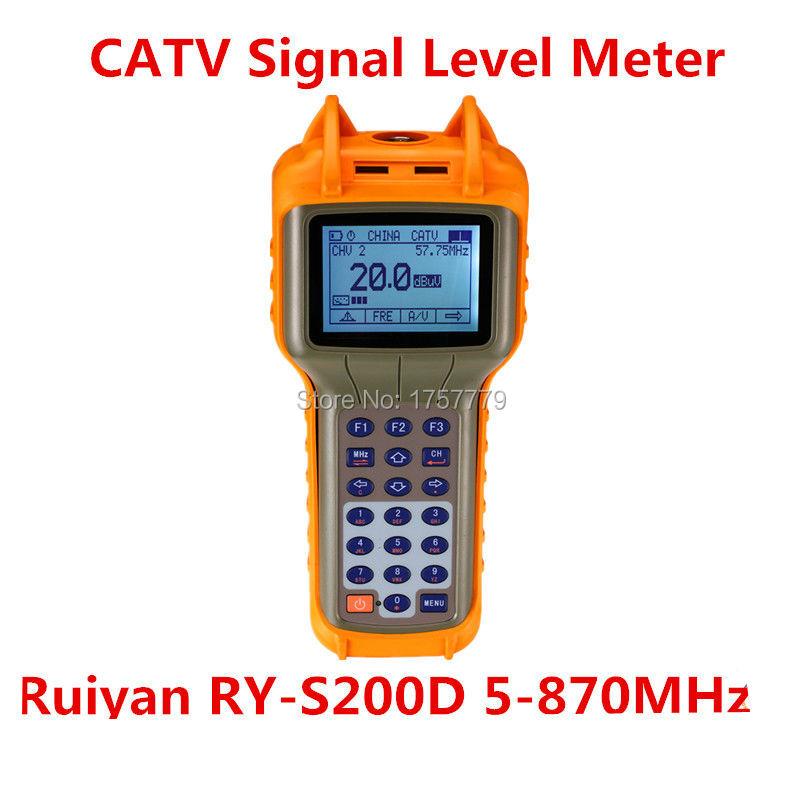 Ruiyan RY-S200D 5-870MHz CATV Digital Signal Level Meter(China (Mainland))