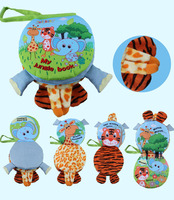 Animal cloth book Activity Book Baby Toy Cloth Development Books Learning & Education Unfolding Books