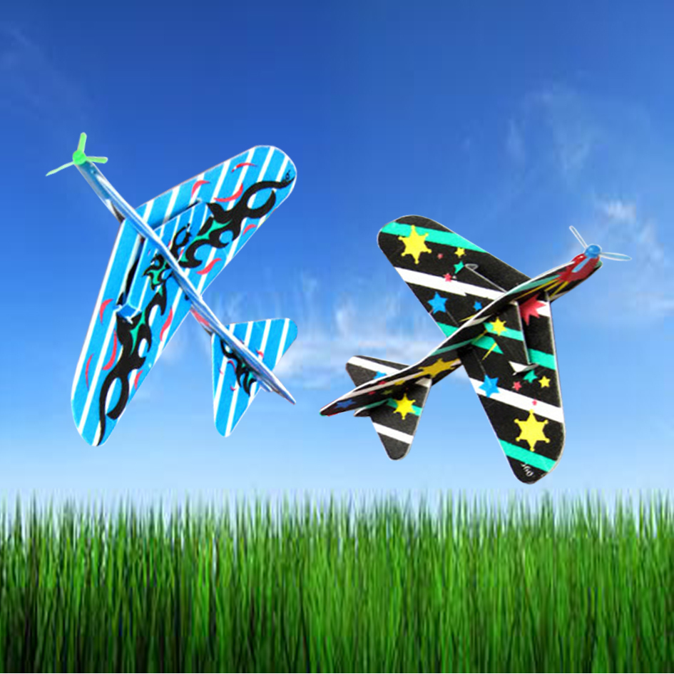 20PCS/Lot Fly Back Toy Airplane High Quality Foam Children's Plane airplane model toy gift free shipping(China (Mainland))