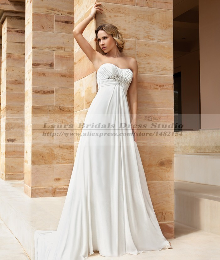 Vestido de noiva vintage sexy cheap beach wedding dresses for Cheap vintage style wedding dresses