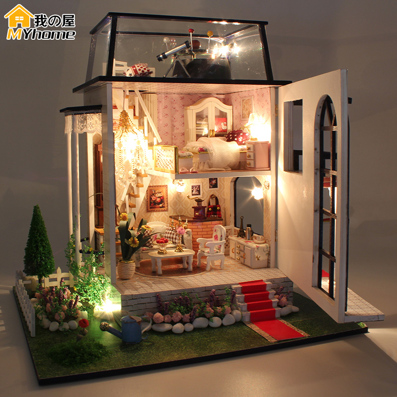 Aliexpress.com : Buy Diy Doll House Miniature Wooden