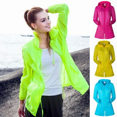 Women'S Lightweight Rain Jacket - Coat Nj